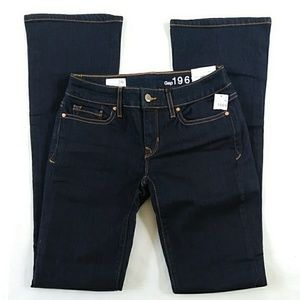 183 GAP 24 WOMENS JEANS NWT SEXY BOOT